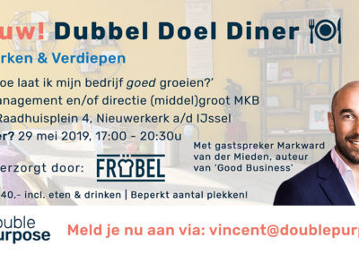 DubbelDoelDiner-promo