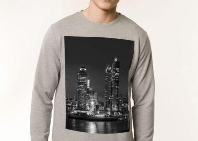sweater grijs kop van zuid